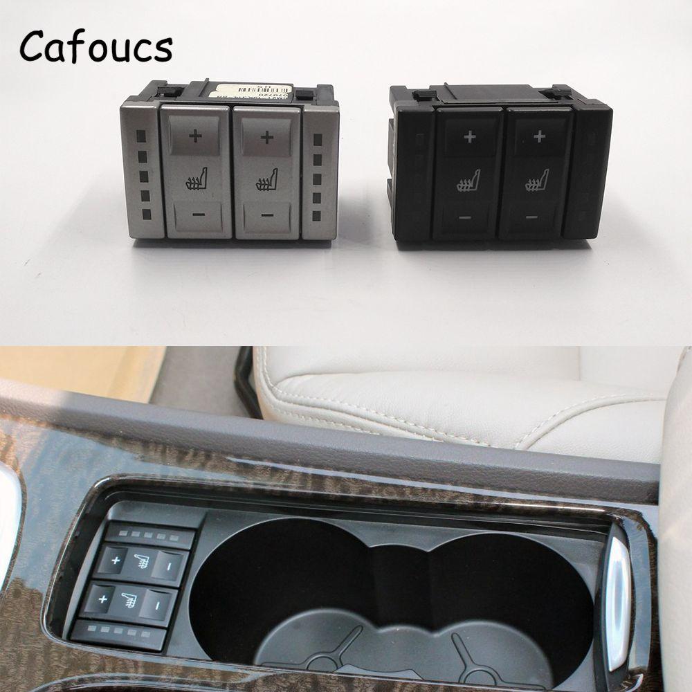 Cafoucs interrupteur de chauffage de siège de voiture bouton de commande de chauffage pour Ford Mondeo MK3 pour S-MAX 2001-2007