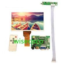 9 Inch Màn Hình LCD Hiển Thị Màn Hình TFT Màn Hình AT090TN12 Có VGA VS TY2662 V1 Đầu Vào Điều Khiển Ban Bộ Điều Khiển Cho Raspberry Pi 3