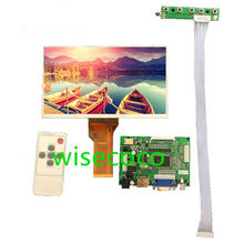 9 polegada display lcd tela tft monitor at090tn12 com hdmi vga VS-TY2662-V1 entrada driver board controlador para raspberry pi 3(China)