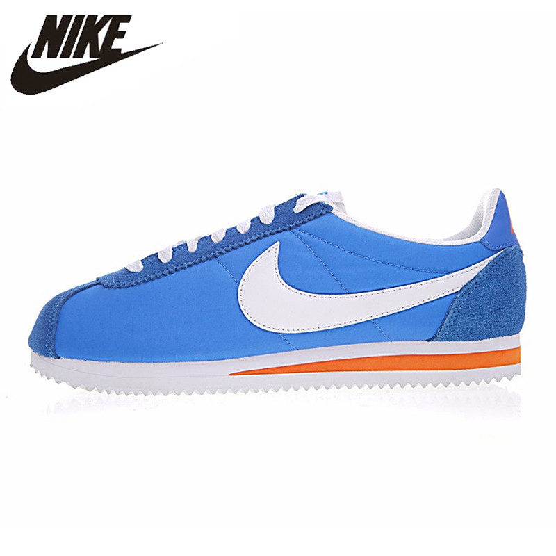 size 40 610a3 a4b31 Nike CLASSIC CORTEZ NYLON Non-Slip Wear-resistant Men s and Women s Running  Shoes,