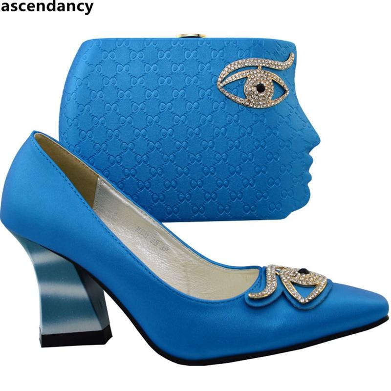 Chaussures Ciel Femmes Mis orange pu Ventes Mariage Atrovirens Africain Ensemble Ciel Assorties jaune De fuchsia En Sac Qualité Talons Dans Bleu Et Couleur Haute q0wA5vEw