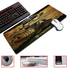 MaiYaCa 30×60/70/80/90cm Size Gaming Mouse Pads The World of Tanks Ultimate Natural Rubber Gamer Game Computer Desk Pad
