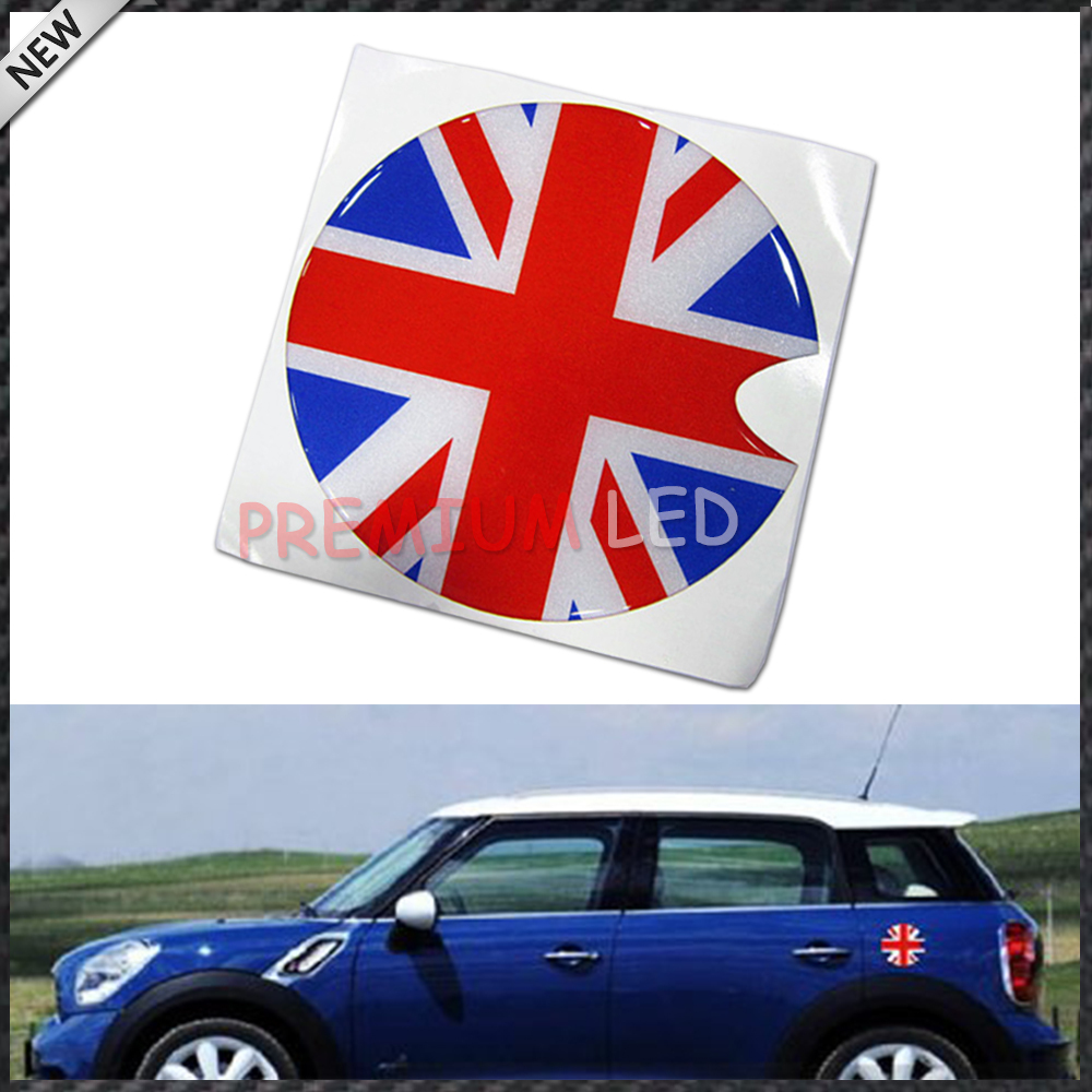 Union Jack UK Flag Pattern Vinyl Sticker Decal For MINI Cooper Gas - Vinyl decals for cars uk