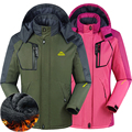 Winter Men women Jacket jaqueta for men thermal Windbreaker coats male Down Parkas jackets Outwear Chaqueta Waterproof Windproof