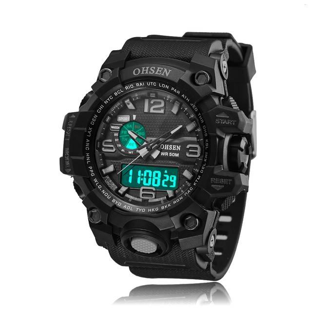 b3bf9daae79 placeholder OHSEN Brand Hours Digital Watch relojes para hombre Men s Clock  Quartz Relogio Masculino Military Sport Mens