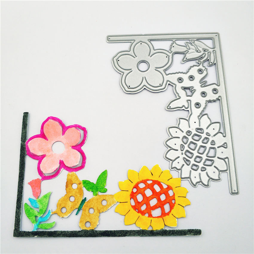 ZhuoAng New spring sunflower design cutting mold making DIY clip art book decoration embossing mold in Cutting Dies from Home Garden