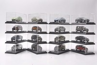 Set of Sixteen 1:64 Diecast Model for Volkswagen VW & Skoda 30th Anniversary Gifts Touran Tiguan Polo Passat Santana Lamado etc
