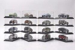 Set van Zestien 1: 64 Diecast Model voor Volkswagen VW & Skoda 30th Anniversary Geschenken Touran Tiguan Polo Passat Santana Lamado etc