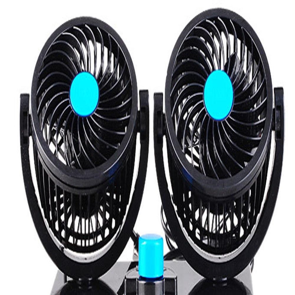 Latest NEW 12V car can use fans and can Open the fan switch can be in operation with good balance and the wind better
