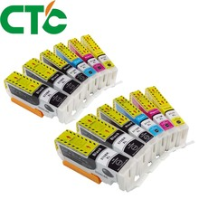 12 PCS PGI 570 571XL Ink Cartridge Compatible for Canon PIXMA MG5750 MG5751 MG5752 MG6850 MG6853 TS6050 6051 6052 5050 5051 5052