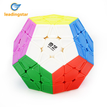 LeadingStar Magic Cubes Brain Teaser Twist Puzzle Sculpted Version 3x3 Speed Cube Stickerless Megaminx Dodecahedron