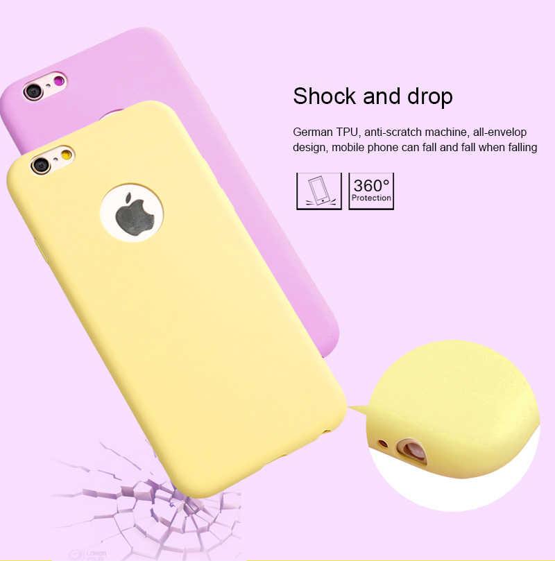 Ốp Lưng Điện Thoại iPhone 7 6 6S 8 X Plus 5 5S SE XR XS Max iPhone 12 mini 11 Pro Max Kẹo Dẻo Silicone Cặp Đôi Mềm Đơn Giản Bao