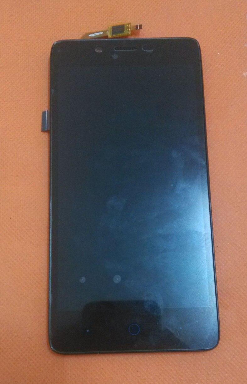 bilder für Verwendet Original LCD Display + Touch Screen + Rahmen für elefon P6000 Pro 5,0 HD 1280*720 MTK6753 Octa Kern Kostenloser versand