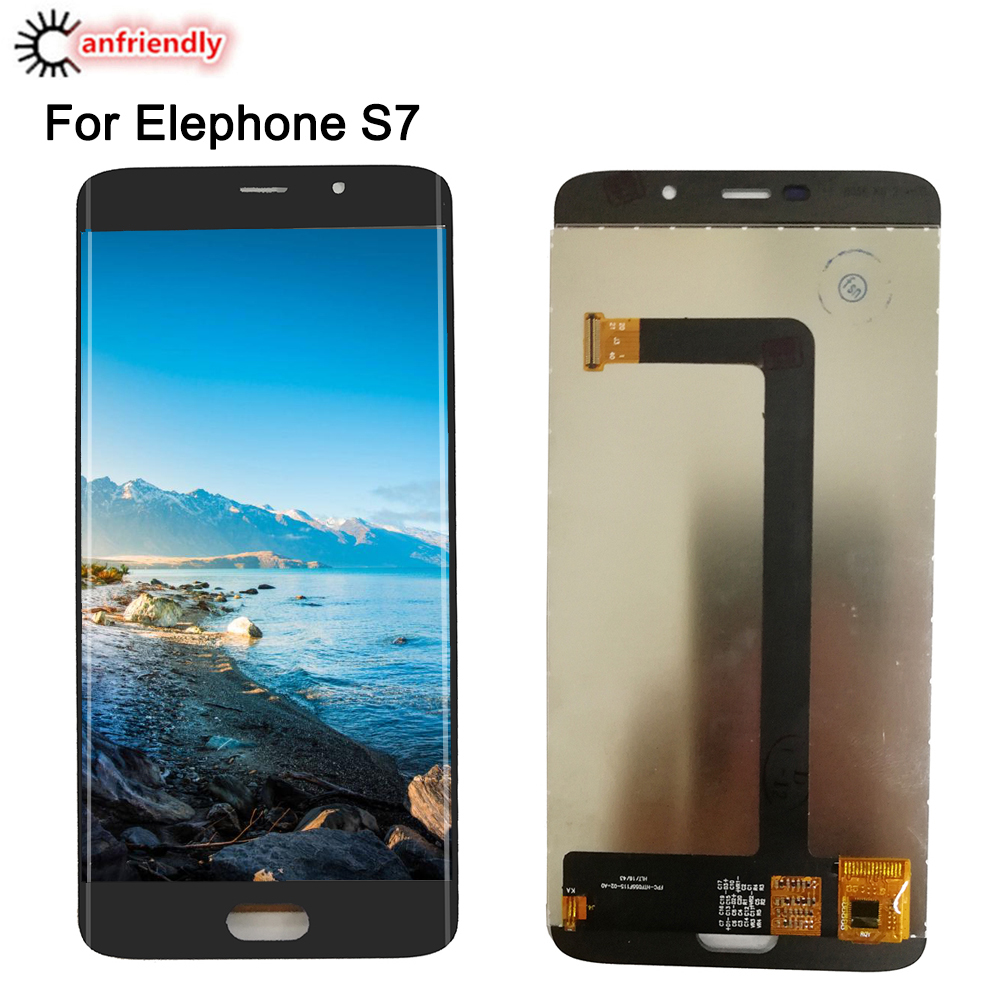"""For Elephone S7 S 7 5.5"""" LCD Display + Touch Screen Digitizer Assembly Replacement Glass Panel For Elephone S 7 S7 lcds display"""