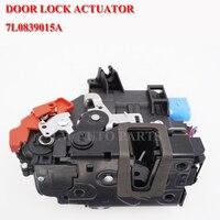 Left Rear Door Lock Actuator Central Mechanism 3D4839015A 7L0839015D for VW Touran Caddy Jetta Golf 5 V Seat Toledo Skoda 7 Pin