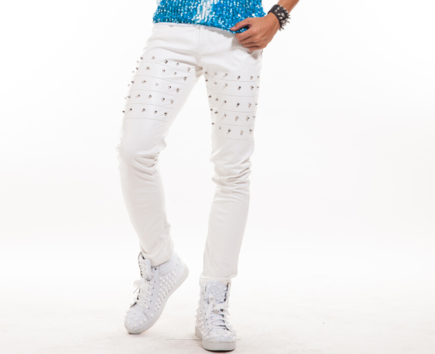 White Stage Pants Promotion-Shop for Promotional White Stage Pants ...
