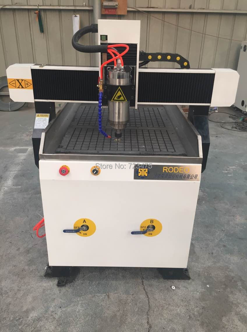 China factory supply 4 axis cnc router 6090 with 1.5kw spindle/cnc router for wood working small cnc milling machine china good quality wood cnc router china for sale