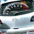 Divertido 3D indicador de velocidad reflectante ventana trasera en forma de etiqueta engomada del coche etiqueta de la ventana decoración de la ventana pegatinas envío gratuito EA1308