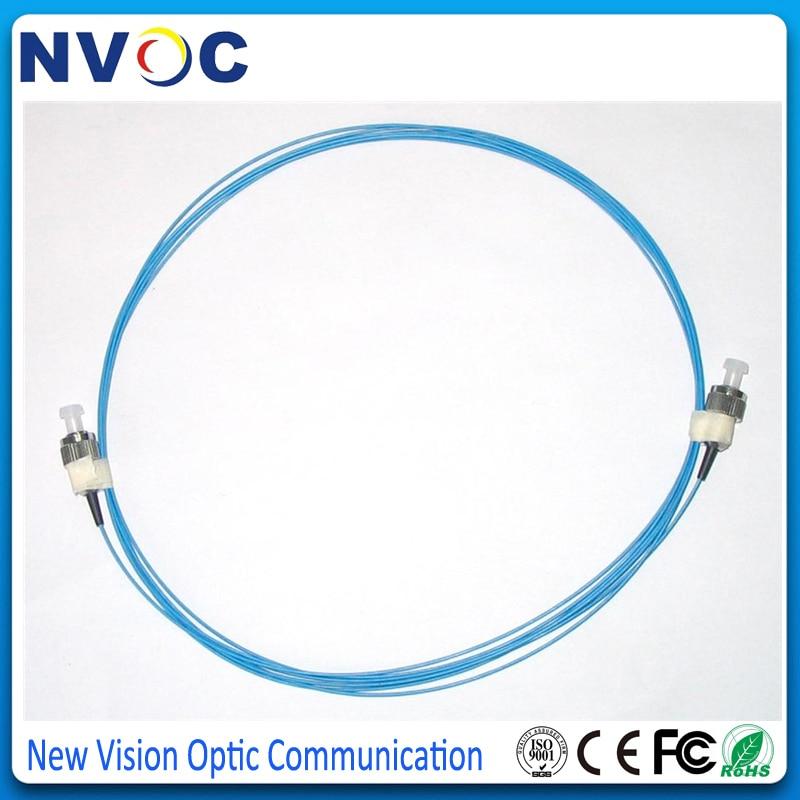 10 шт./лот, 1,5 м 50/125 OM3 Simplex Fiber Pigtail FC UPC Multi Mode 0,9 мм, FC/UPC mm Simplex Fiber Pigtail/Jumpler Cable