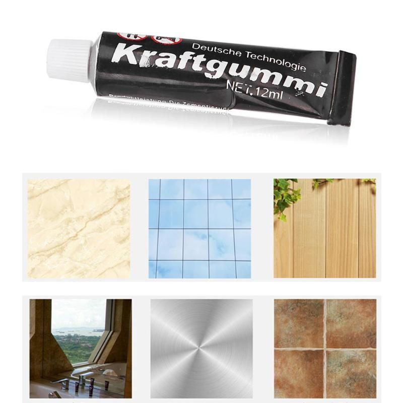 Adhesive Glue Waterproof Fast-drying Glass Metal Leather Rubber Strong Bond Waterproof Adhesive For Ceramic Tile Hardware