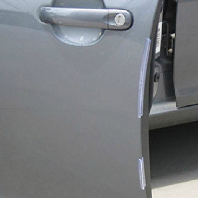 Auto Car Door Guard Edge Corner Bumper 8Pcs/Set Guards Buffer Trim Molding Protection Strip Scratch Protector Car Door Crash Bar