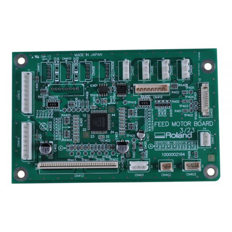Generic Roland RS-640 PF Motor Board roland vp 540 rs 640 vp 300 sheet rotary disk slit 360lpi 1000002162 printer parts