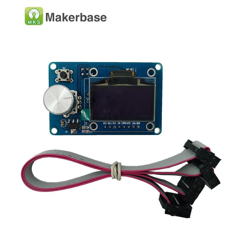 Controlador inteligente reprap ramps1.4 mks 12864 pantalla oled de 1.3 pulgadas
