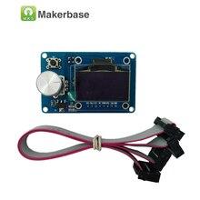 Мкс 12864 oled дисплей 1.3 дюймов умный контроллер reprap ramps1.4 мини oled экран oled 3d принтер экрана 1.3 точек жк-экран kart