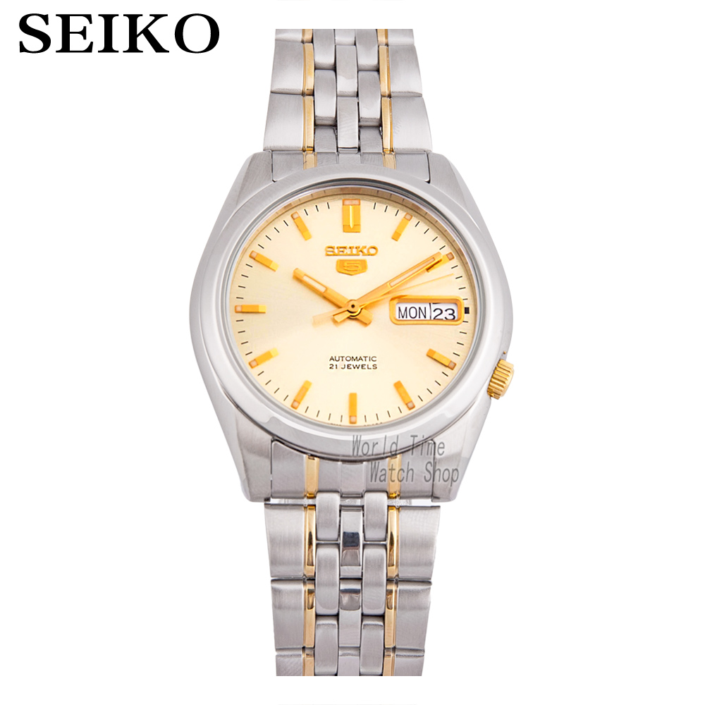SEIKO Watch No. 5 Automatic Mechanical business casual waterproof men's watches SNK361K1 SNK365K1 цена и фото