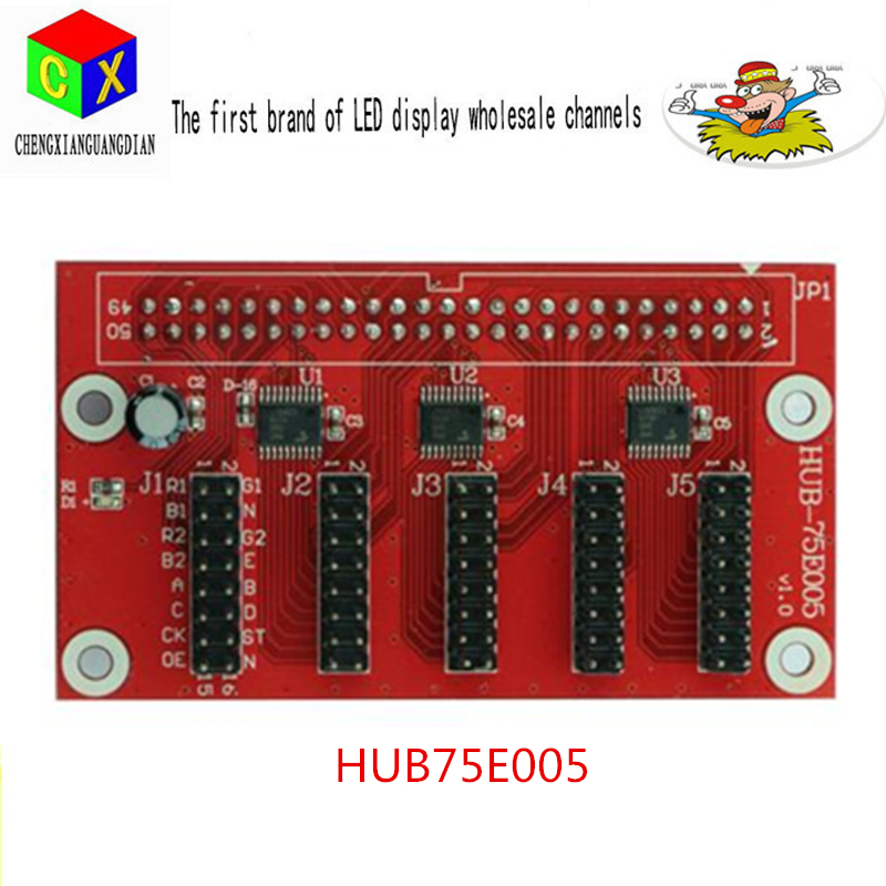 HUB 75 Asynchronous Full-color Control Card  HUB75 LED Display