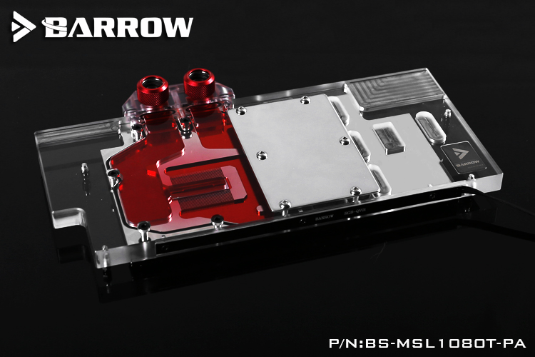Barrow BS-MSL1080T-PA Water Cooling Block for MSI GTX1080Ti LIGHTNING X computador cooling fan replacement for msi twin frozr ii r7770 hd 7770 n460 n560 gtx graphics video card fans pld08010s12hh