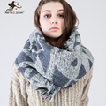 New Fashion Za Scarf and Shawl for Women Winter Knitted Wrap and Pashmina Oversized Woolen Knitting Scarf and Wrap for Ladies