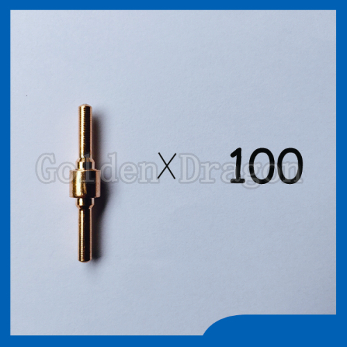 ФОТО Free shipping 100pcs PT-31 LG-40 Plasma Cutting Cutter Consumables Extended Electrodes Fit CT-312 CUT-40 CUT-50