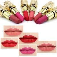 12PCS/lot Mini Lip Make Up Waterproof Long lasting Matte Lipstick Pintalabios Larga Duracion Mate Maquillage Femme