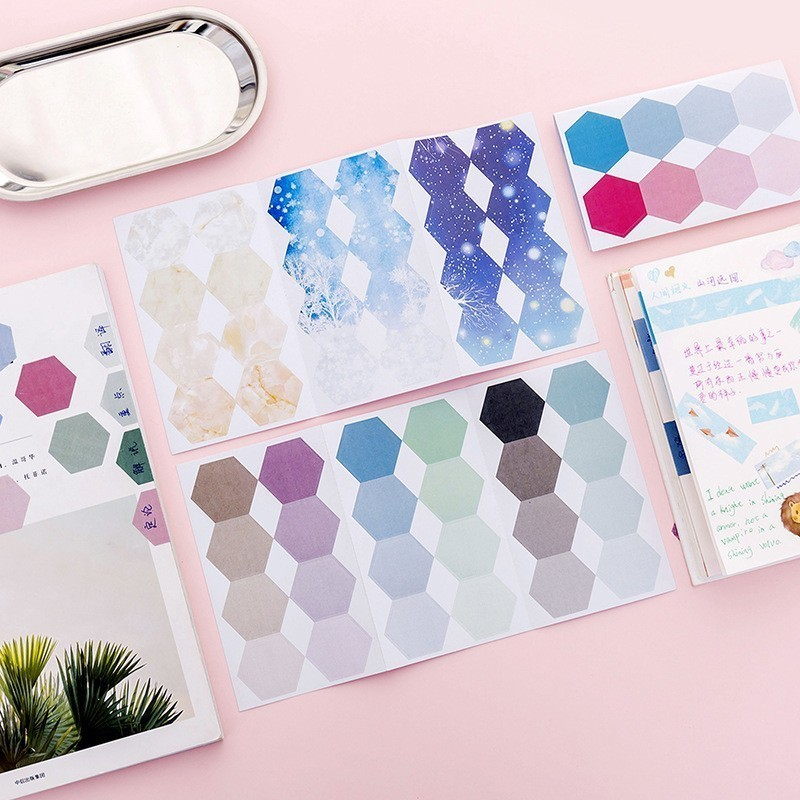 1PCS New Gradual Change Of Creative Memo Pad Paper Post Notes Sticky Notes Notepad Stationery Papeleria Office School Supplies