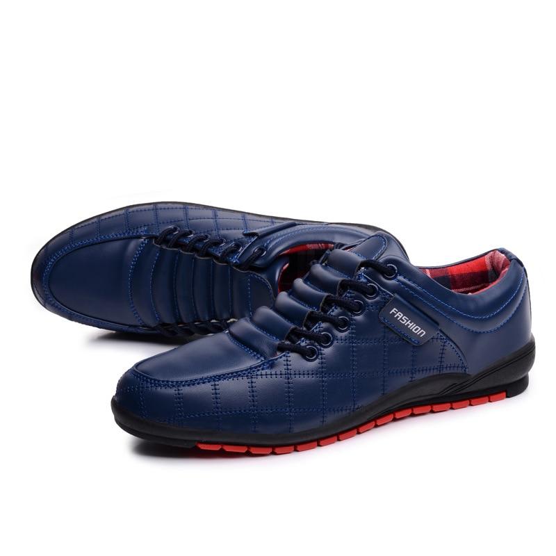 brown De Marée Homme Cuir Appartements Chaussures Marque Black blue Robe Hommes Oxford Mode Causalité D'affaires Pop En adSw0qq