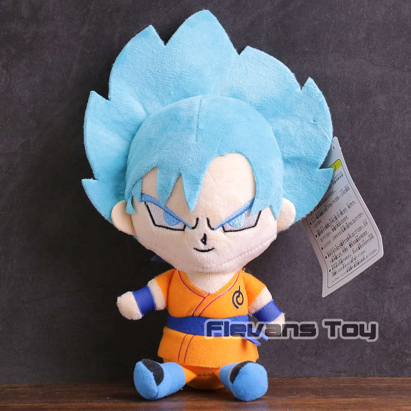 Dragon Ball Z Super Saiyan God Super Saiyan Blue Son Goku Vegeta Piccolo Majin Buu Plush
