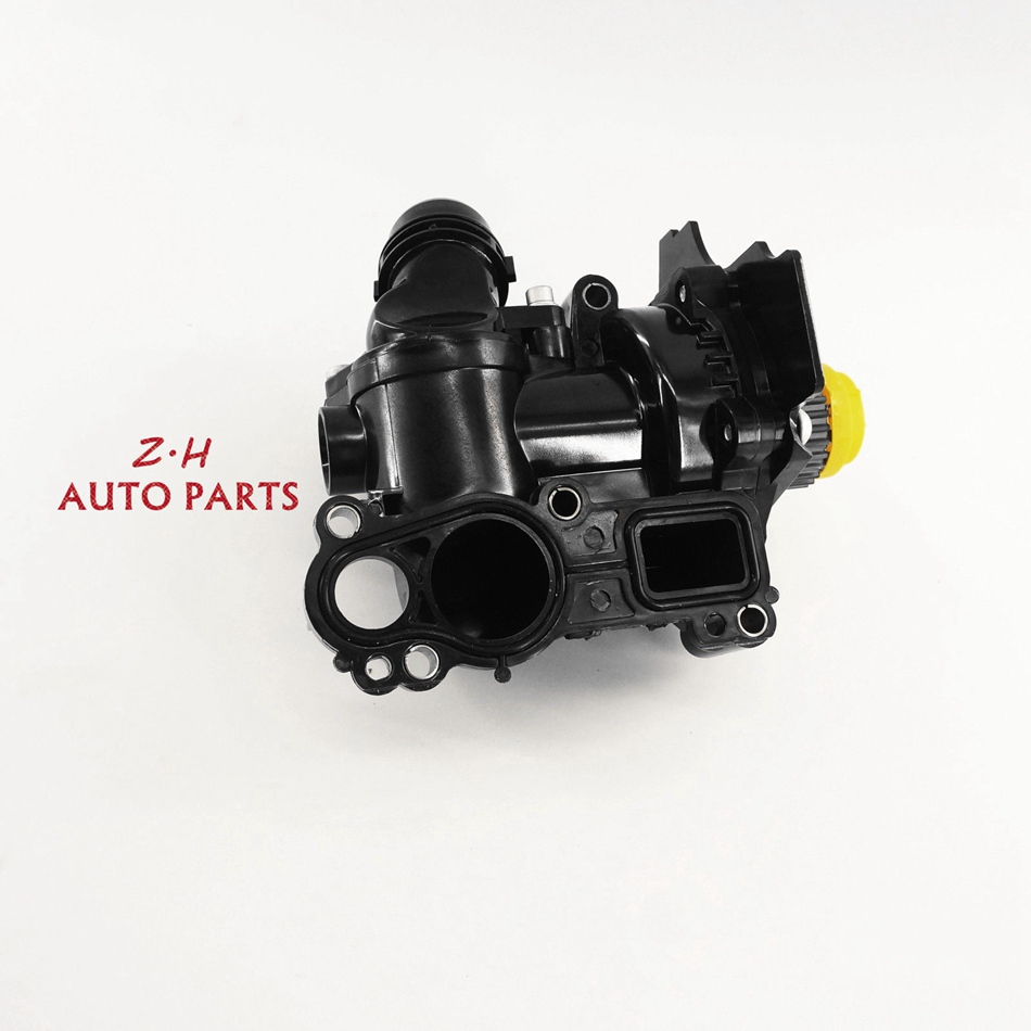 OEM Engine Water Pump Fit VW Jetta GTI GOLF/GTI TIGUAN Passat AUDI A3 A4 A5 A6 A8 EA888 1.8TFSI 2.0TFSI 06H 121 026 CQ qty 2 auto for auxiliary cooling water pump fit vw jetta golf gti vw passat cc octavia 1 8 t 2 0 t 12 v engine 1k0 965 561 j