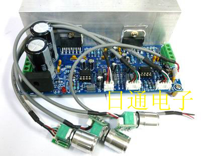 The TDA7265 three 2.1 channel amplifier is better than LM1875 TDA2030A