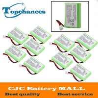 AAA 800mAh 3,6 V NI-MH reemplazo recargable batería de teléfono inalámbrico de casa para Motorola SD-7501 Battries paquete fruta verde EE. UU.