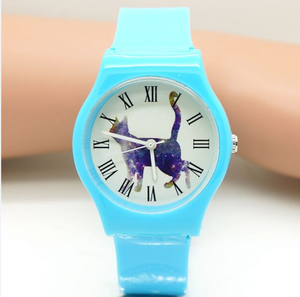 unisex classic fashion animal dial roman number wristwatches for women man girls quartz watch with unicorn&cat dial design watch bronze cool full hunter anchor pirate design theme fob pocket watch quartz roman number dial casual fashion chain best gift kids