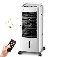 LG03-2, Envío libre, AC220C, Frío/Calor, Pequeño mini ventilador del aire acondicionado adiot control remoto de silencio de refrigeración del ventilador enfriador de aire