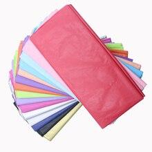 10 шт./пакет 50x66 см подарочная упаковка ремесло папиросной бумаги цветок оберточной бумаги рулона бумаги вина рубашка Обувь Одежда упаковочная упаковка
