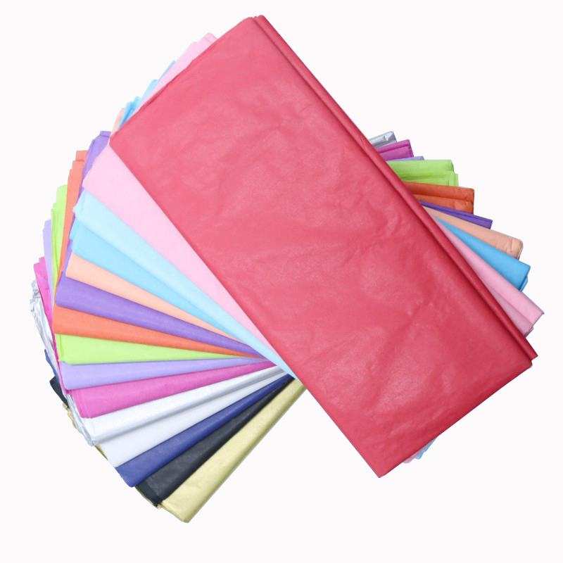 10pcs/bag 50x66cm Gift Packaging Craft Tissue Paper Flower Wrapping Paper Paper Roll Wine Shirt Shoes Clothing Wrapping Packing