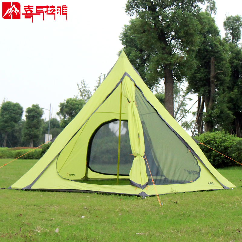NEW HIMALAYA Camping Family Tent Sandy Beach Tent 3-4 Persons Anti UV Set up in Seconds Outdoor Waterproof for Camping & Hiking outdoor camping hiking automatic camping tent 4person double layer family tent sun shelter gazebo beach tent awning tourist tent