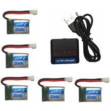 Original for JJRC H8 H48 Battery Spare Parts 3.7V 150mAh 30C Original Battery H8 mini Battery + 5in1 Cable balance Charger sets