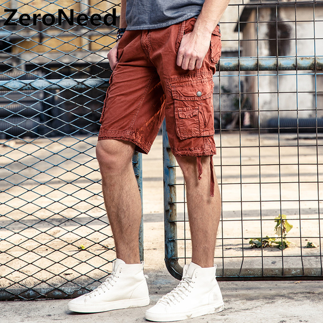 d02b1a545e50 Cargo Shorts Mens Summer Wear Shorts Masculino Casual Plus Size Leisure  Outdoors Trousers Fashion Brand Bicycle Short Homme 154