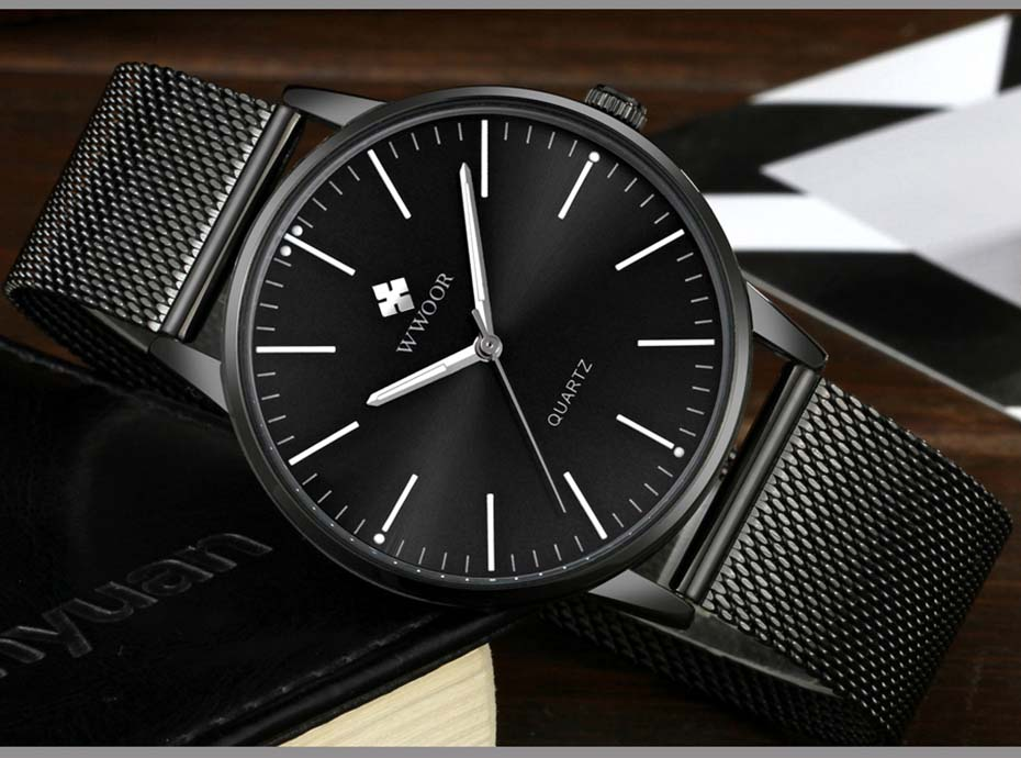WWOOR 2019  Mens Watches Top Brand Luxury Gold Men\'s Minimalist Wrist Watches Ultra Thin Gift Watch For Men relogio masculino (11)