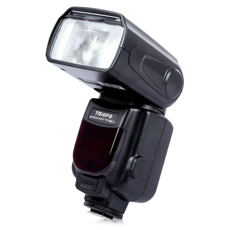 TRIOPO TR - 960ll DSLR Camera Flash Speedlite Speedlight Flashlight LCD Screen Speedlite For Canon For Nikon For Pentax