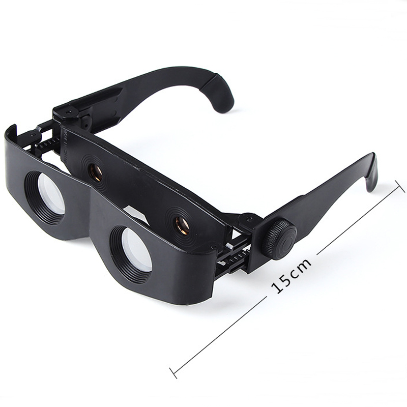 Outdoor Adjustable Fishing Telescope Glasses Polarized Lens Hiking-Magnifier